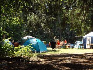 Camping Les Genêts, Salles Curan