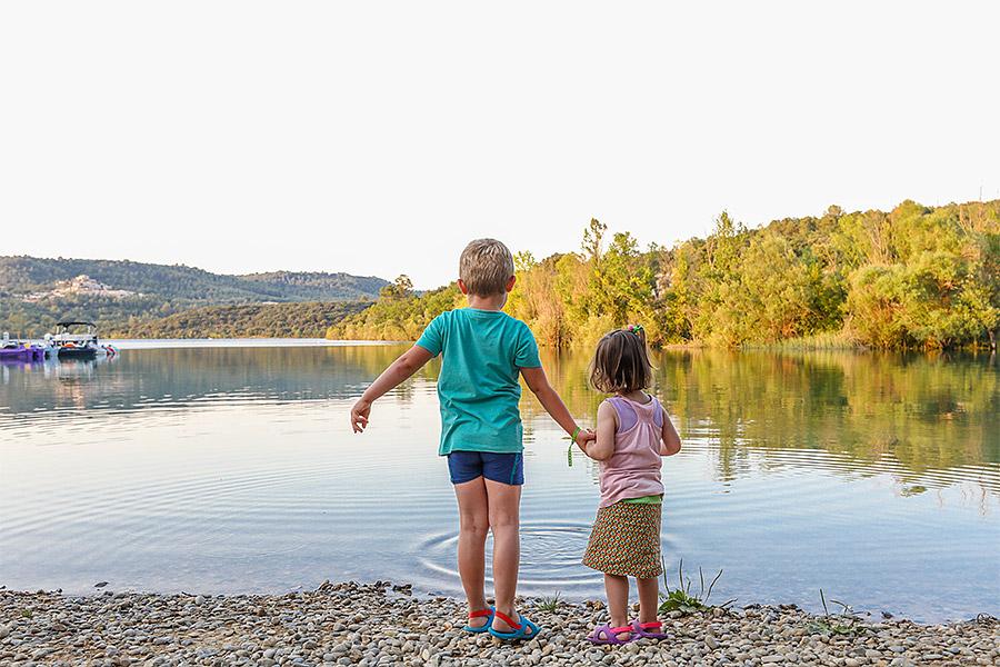 camping Lac de Sainte Croix