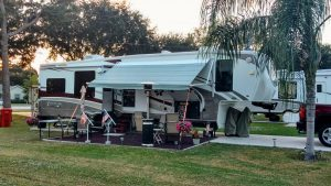 Mobil-home confortable à Biscarosse