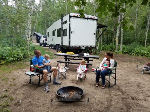 Décider de partir en vacances en camping