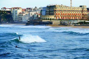Détente en amoureux à Biarritz