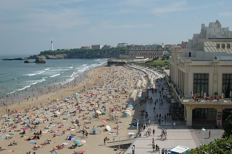 Biarritz: une destination idyllique issue de la bourgeoisie